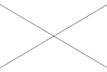 rechteck mit kreuz