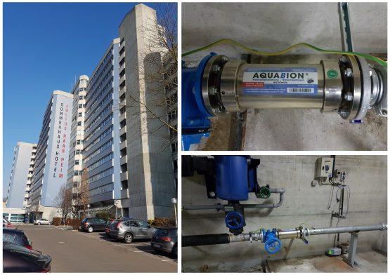 Aquabion Raab Heim Referenzcollage mit Betriebsstätten und Außenansicht