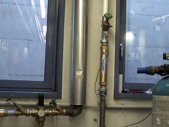 Wartungsfreundlicher Aquabion wird eingebaut anstatt einer Salzanlage